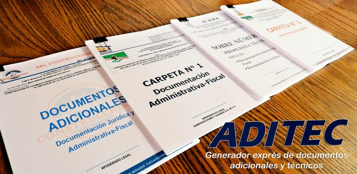 ADITEC Generador Exprés de Documentos Adicionales y Técnicos