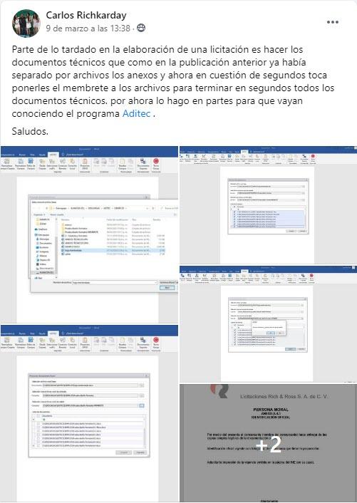 ADITEC (Generador Exprés de Documentos Adicionales y Técnicos)